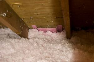 New Insulation installed in Elyria attic